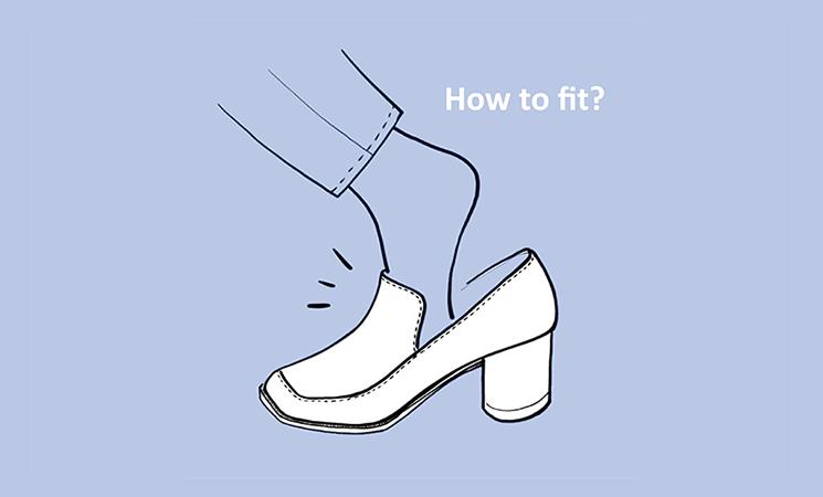 新しい靴の慣らし方