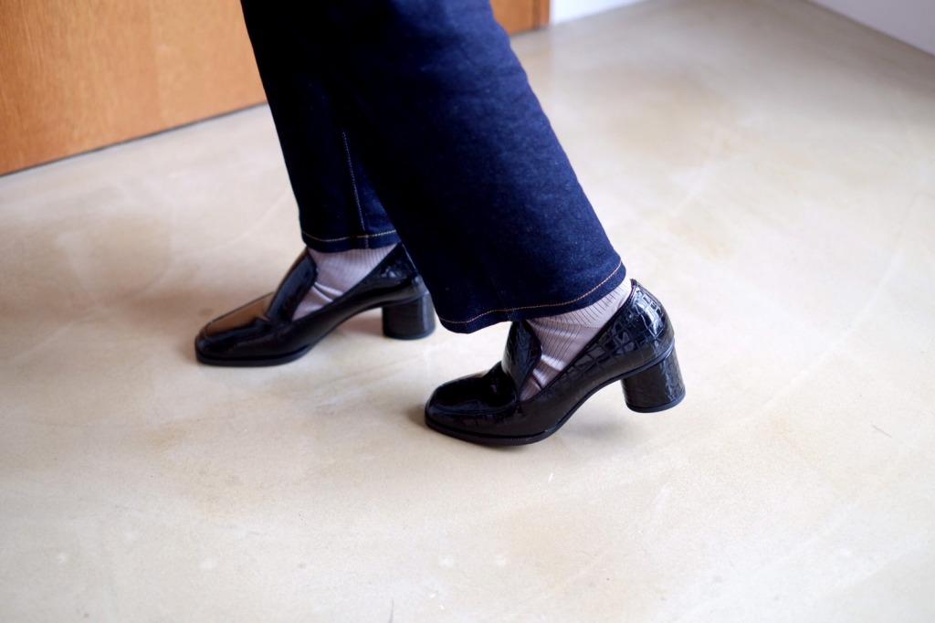 を おろす 靴 新しい