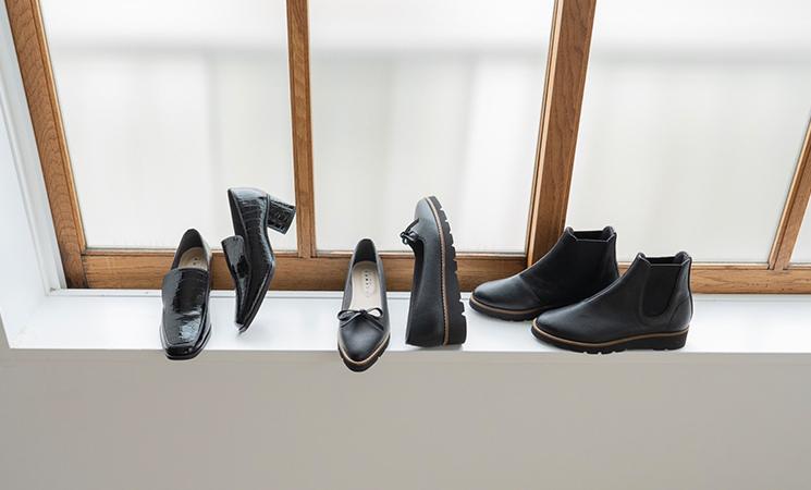 黒い靴に合わせたいコーディネート