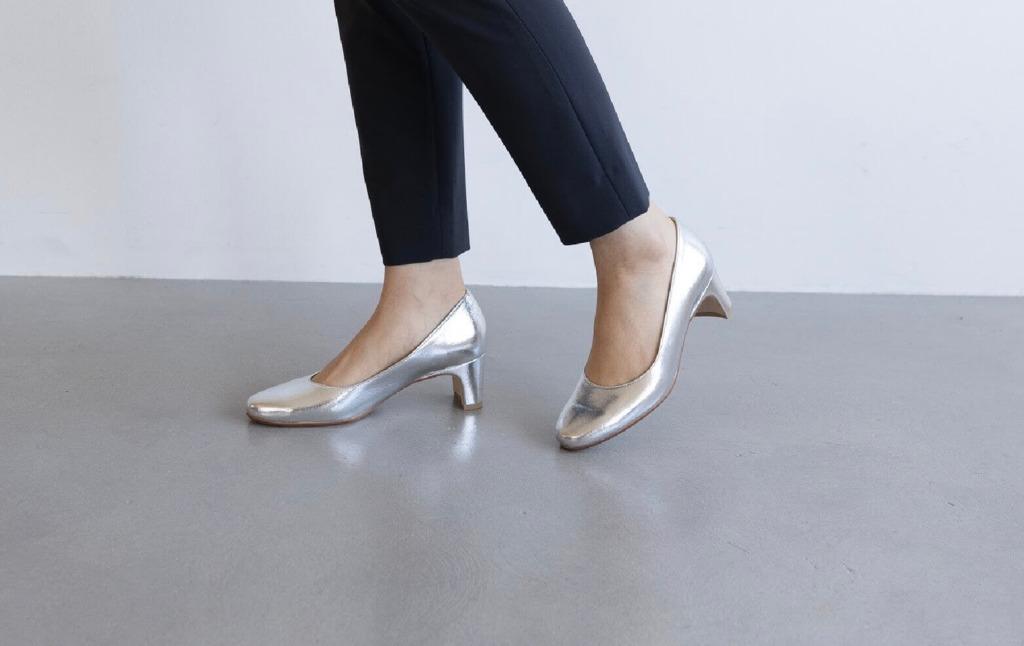 卒入園式&オフィスコーデで小柄女性に意識して欲しい事2.靴の種類