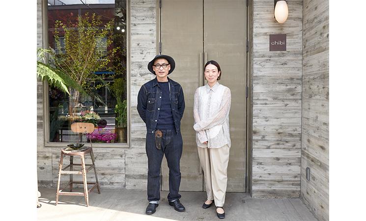 中目黒フラワーショップchibiさんとRELEデザイナー佐原インタビュー