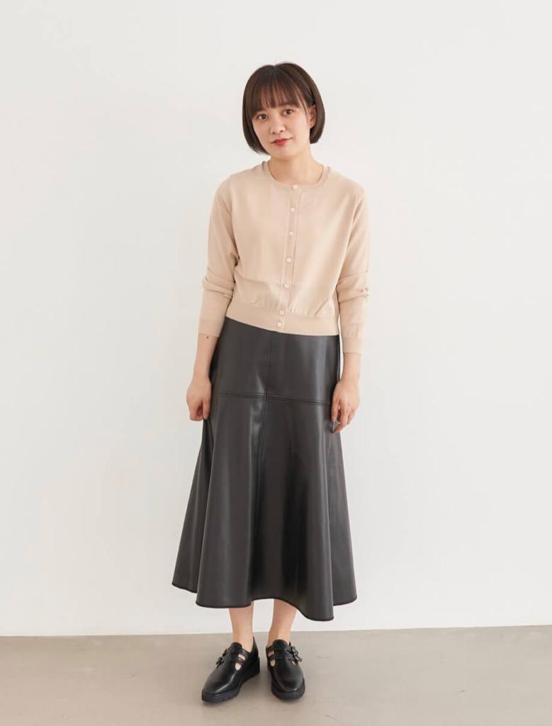 149cmのスカートスタイル×メリージェン