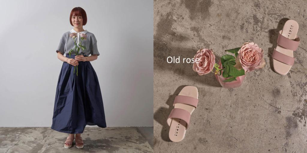 ピンク...Old rose(薔薇)