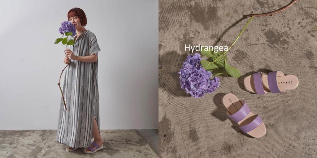パープル...Hydrangear(紫陽花)