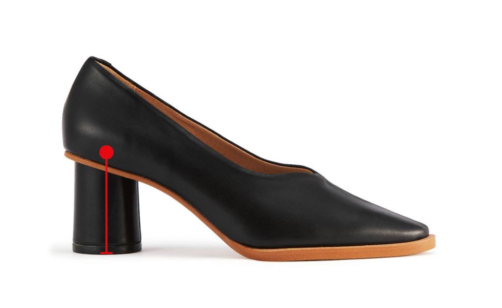 ヒール形状から見た、履き心地の良い靴を選ぶ時のポイントは?