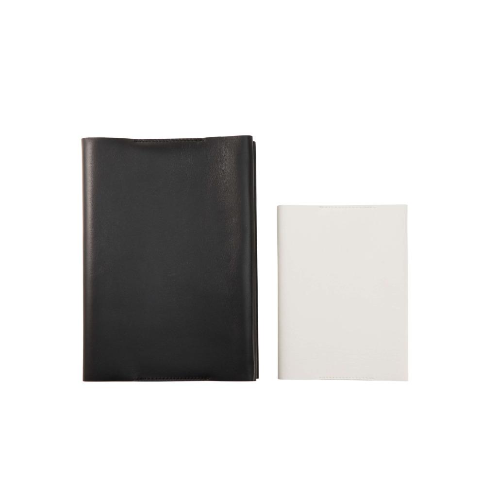 マルチカバーA5サイズブラックとA6サイズホワイト商品画像