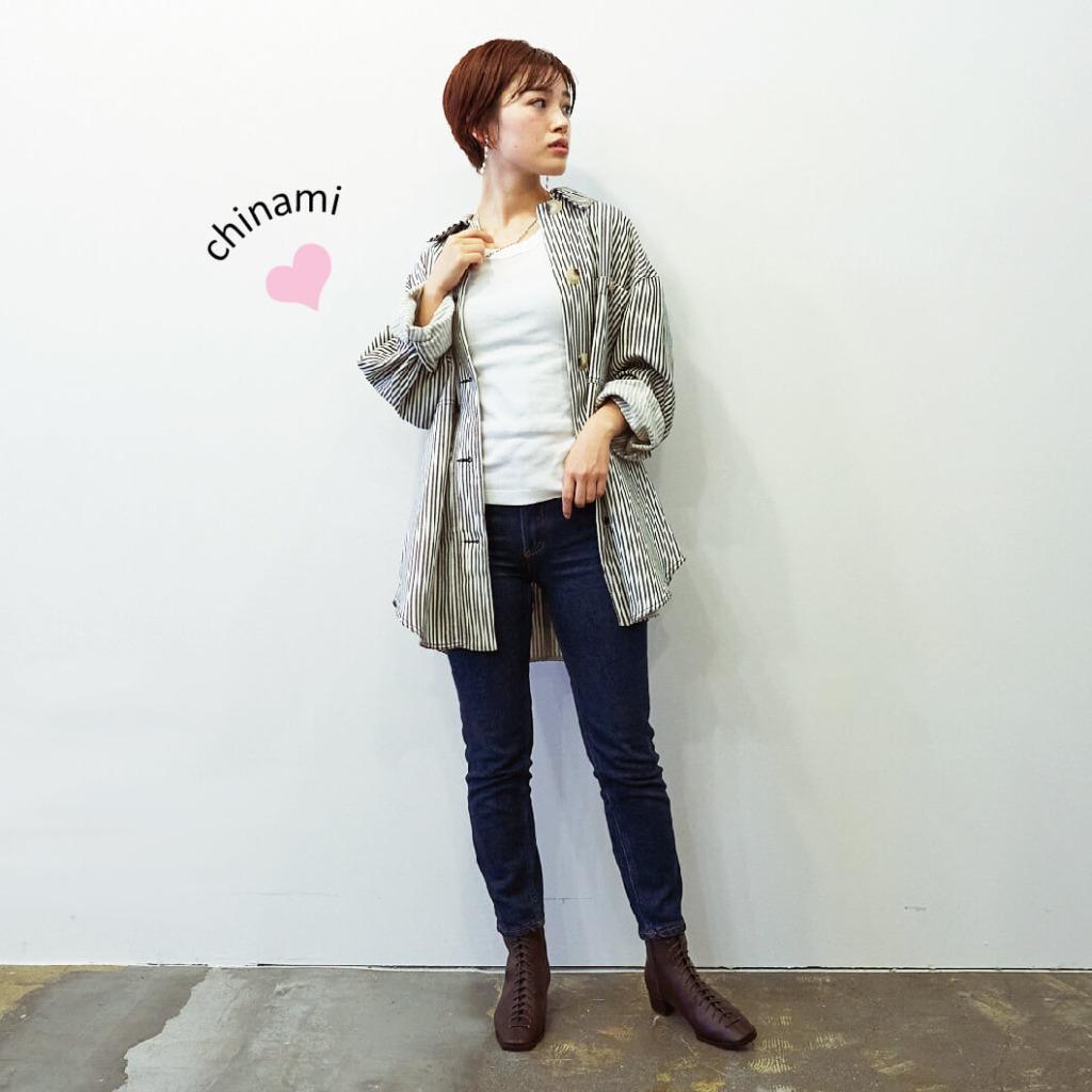 【chinami × dark brown】
